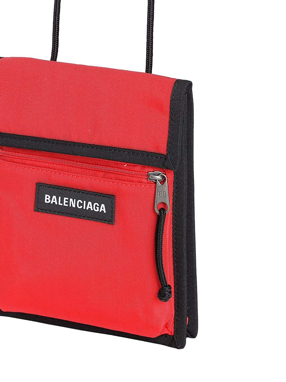 check-out 02822 4f859 Balenciaga Homme 5322989TYY56464 Rouge Polyamide Sac Messenger