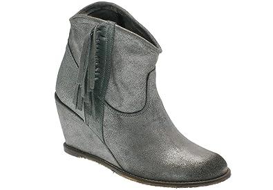 nouveaux styles magasins populaires style de la mode de 2019 MELINE Women's Boots silver Size: 4: Amazon.co.uk: Shoes & Bags