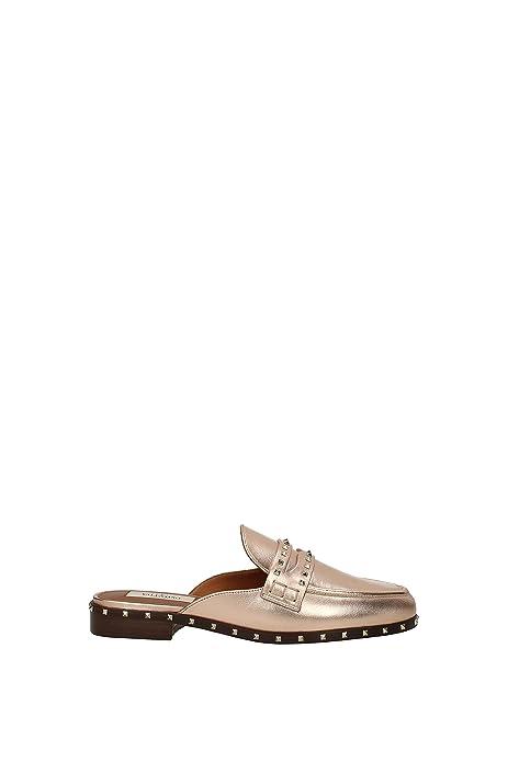 Zapatillas y Zuecos Valentino Garavani Mujer - Piel (0S0E73NDP) EU: Amazon.es: Zapatos y complementos