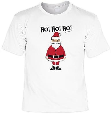T-Shirt - Ho Ho Ho - Weihnachtsmann - lustiges Sprüche Shirt für ...