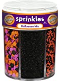 Wilton Halloween Mix of 6 sugar-sprinklers- Discontinued by Manufacturer