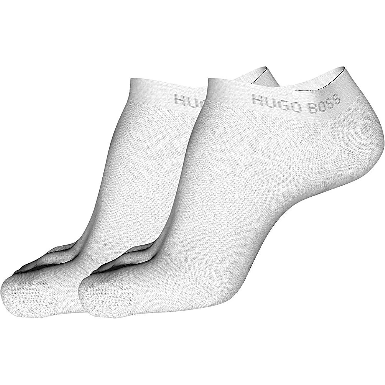 HUGO BOSS 6 Pack Herren Sneaker Socken 39-42 43-46 uni Baumwolle mit Elasthan