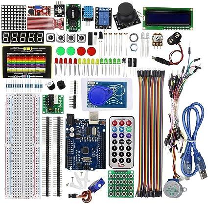 Timstore RFID Learning Starter Kit Set Versión mejorada Learn Suite para Arduino UNO R3 - Kits compatibles con Arduino y kits de bricolaje Reparar la herramienta por Timstore.: Amazon.es: Coche y moto