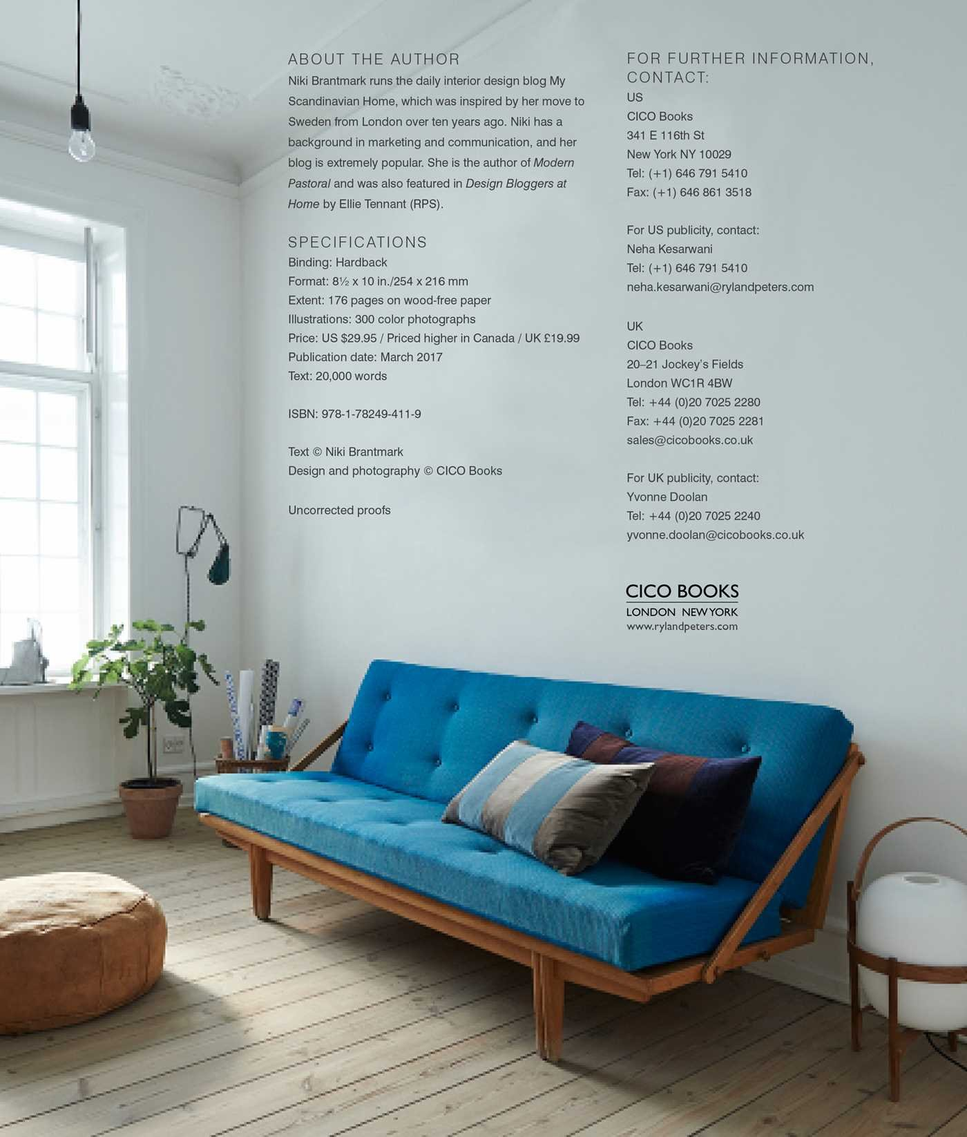 The Scandinavian Home Interiors Inspired By Light Amazoncouk Niki Brantmark 9781782494119 Books