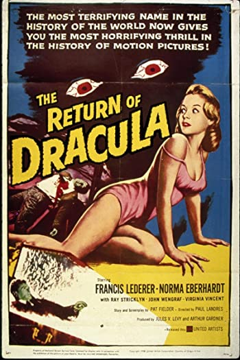 The Return of Dracula directed by Paul Landres