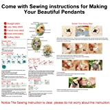 Beginner Embroidery Kit, Outgeek 3PCS Embroidery