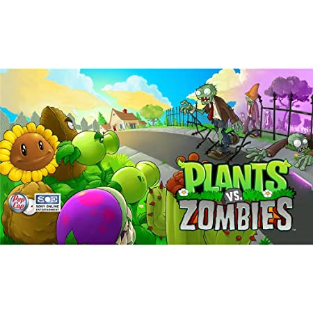 Plants vs Zombies 1 Poster On Silk <107cm x 60cm, 43inch x 24inch> - Cartel de Seda - B6823E
