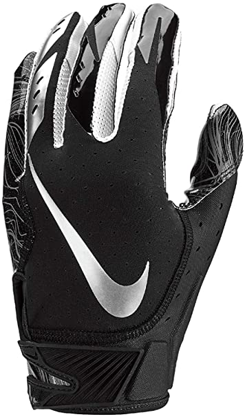 d803ccaaf27 Nike Vapor Jet 5 Football Gloves - Black - small. Roll over image to zoom in
