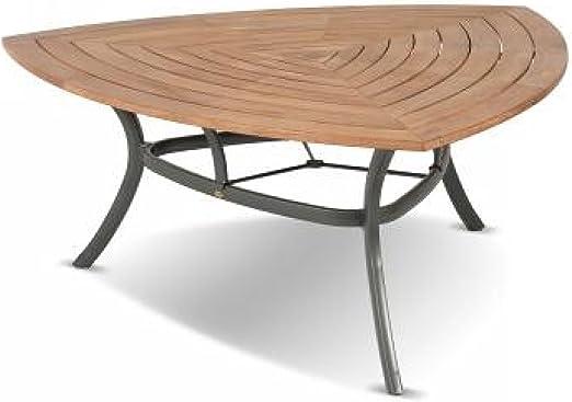 Hartman Mesa Triangular 170 x 170 x 170 cm Madera de Teca/Aluminio ...