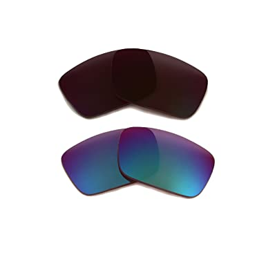 07385460962 FUEL CELL Replacement Lenses Polarized Bronze Brown   Green by SEEK fits  OAKLEY