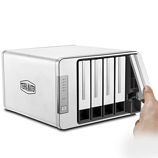 91 opinioni per TerraMaster D5-300C USB3.0 (5Gbps) Tipo C Supporto per RAID 5-Bay RAID Supporto