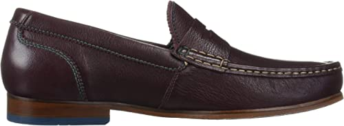 TAN Leather Ted Baker Mens XAPONL Penny Loafer 7 M US