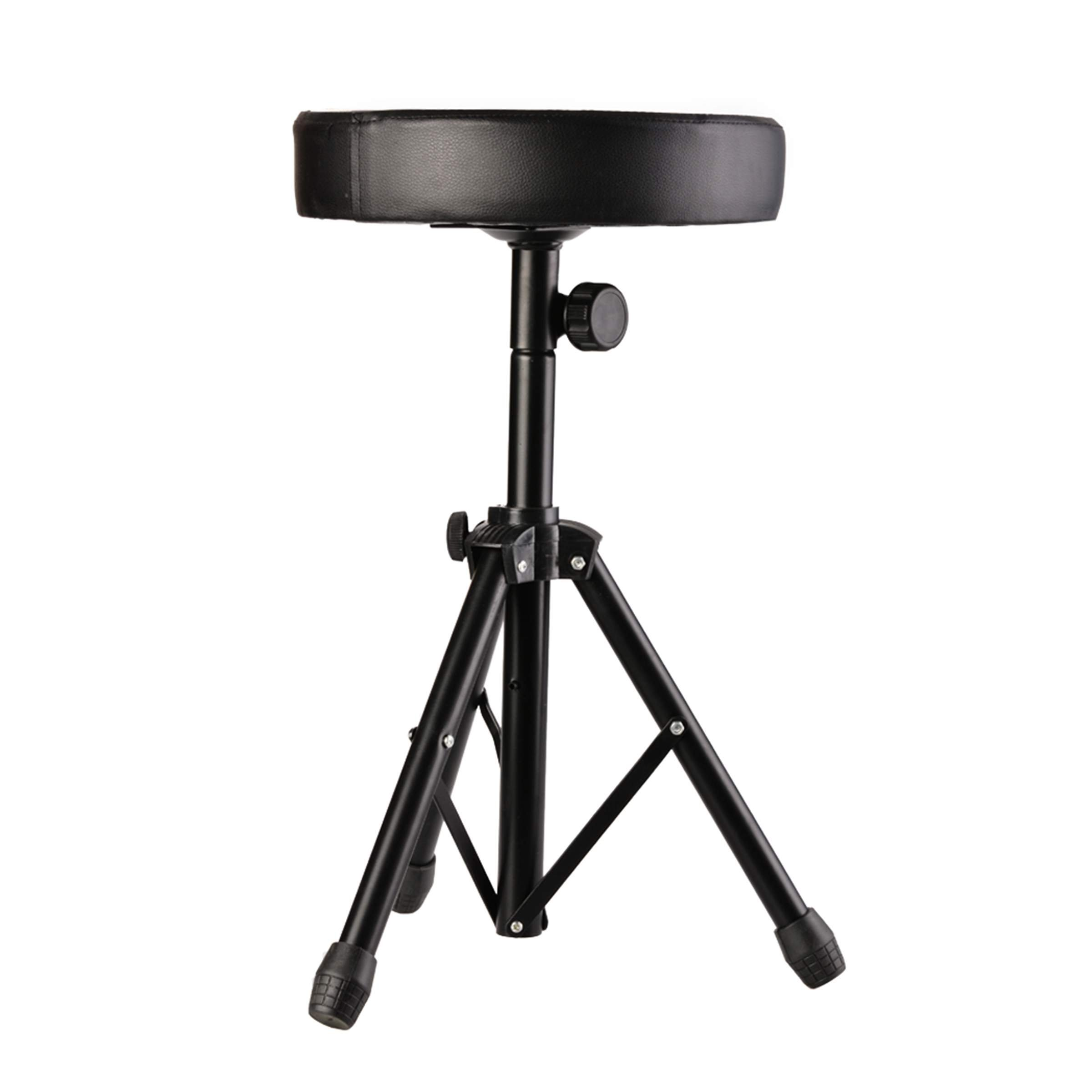 Wakrays Drum Soft Padded Seat Stool Stand Adjustable Drum Throne