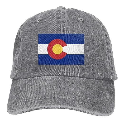 ddafdd9e4f9c3 Colorado Flag Classic Unisex Adjustable Baseball Cap Dad Hat at ...