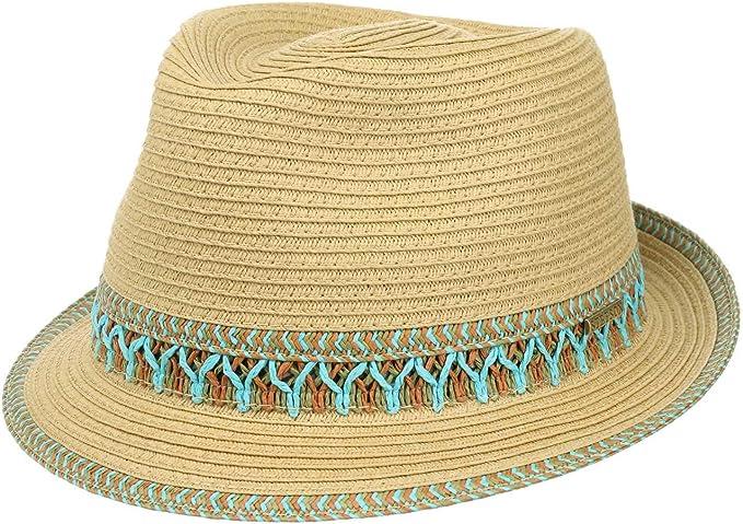 STETSON Paladon Toyo Trilby Sommerhut Sonnenhut Toyo-Hut Stoffhut Hüte