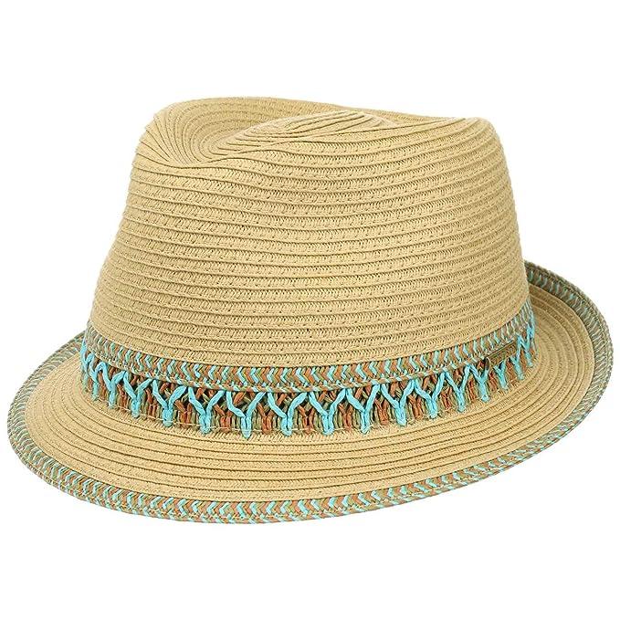 Stetson Cappello di Paglia Arnett Toyo Trilby Sole Cappelli Spiaggia  Amazon .it  Abbigliamento 63da0219ca73