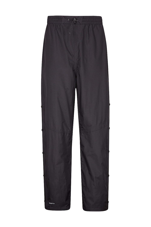 Mountain Warehouse Sovrapantaloni da Uomo Downpour - i Pantaloni Impermeabili della Pioggia, Le Parti Inferiori di Breathable, Le giunture registrate, Ripstop, la Chiusura