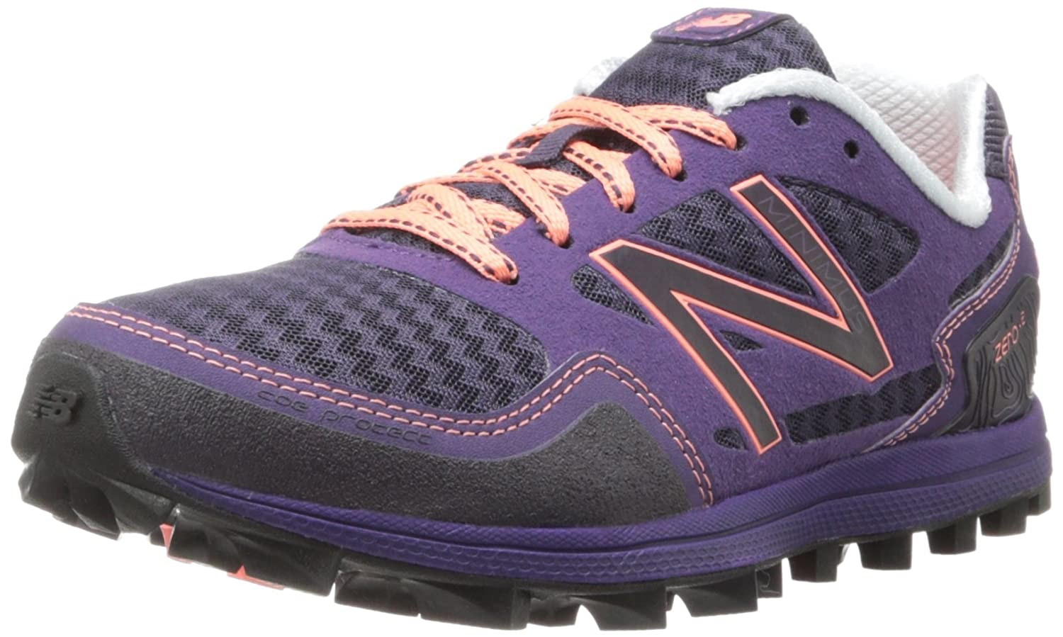 New Balance Women's WT00 Minimus Zero v2 Trail-Running Shoe B00F4WRHKA 7 B(M) US|Purple/Pink