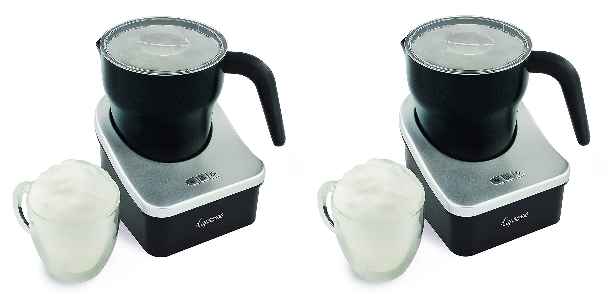Capresso 202.04 frothPRO Automatic Milk Frother and Hot Chocolate Maker (Pack of 2)
