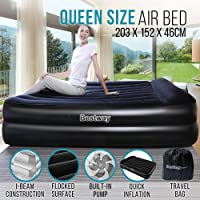 Bestway Premium Queen Air Bed Inflatable Mattress with Built-in Electric Pump