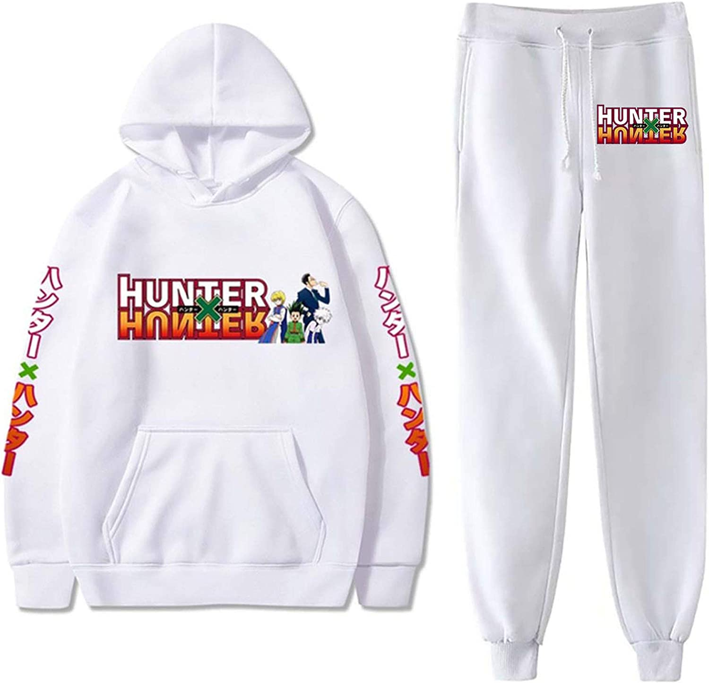 Derberha HxH Hunter x Hunter Hoodies Anime Hoodie Pullover Sweatshirt for Men and Women