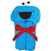 Baby hooded Towel ~ Cookie Monster
