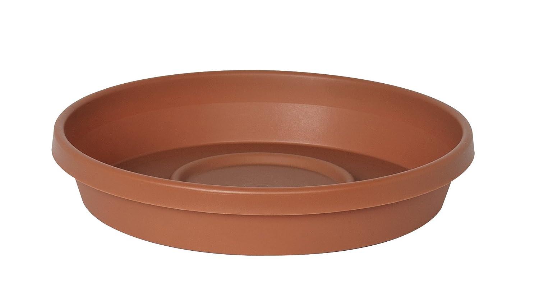 "Bloem Terra Plant Saucer Tray 13"" Terra Cotta"
