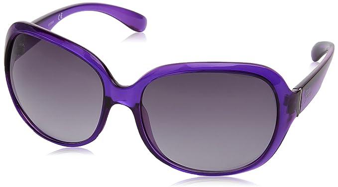 Guess Gu0243F, Gafas de Sol para Mujer, Morado (Violeta), 60: Amazon.es: Ropa y accesorios