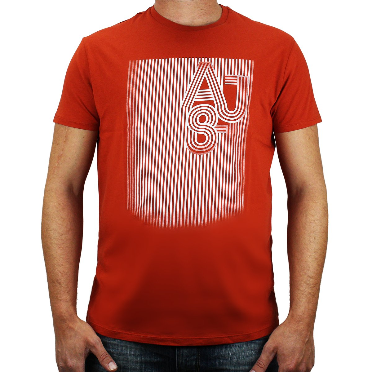 Armani - Camiseta - Moda - para hombre naranja XXX-Large: Amazon ...