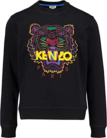 Kenzo Hommes Tigre Tête Sweat - Noir, L: