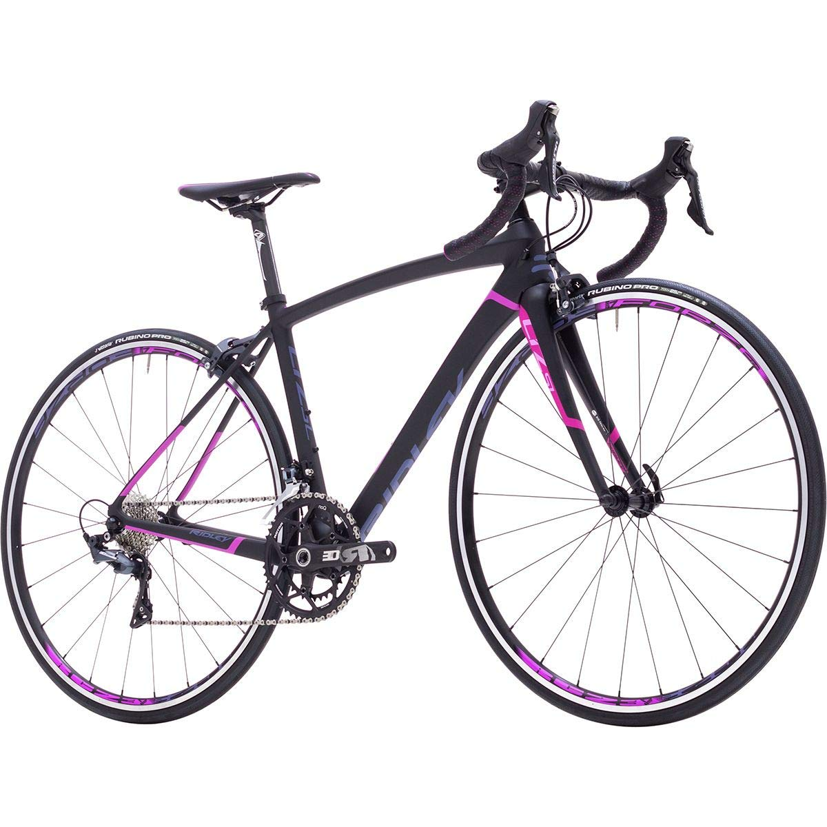 Ridley Liz SL Ultegra コンプリートロードバイク ブラック/パープル/グレー、S B07GXNFHSR