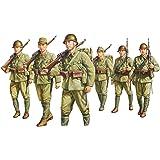 ファインモールド 1/35 帝国陸軍歩兵行軍セット プラモデル FM37