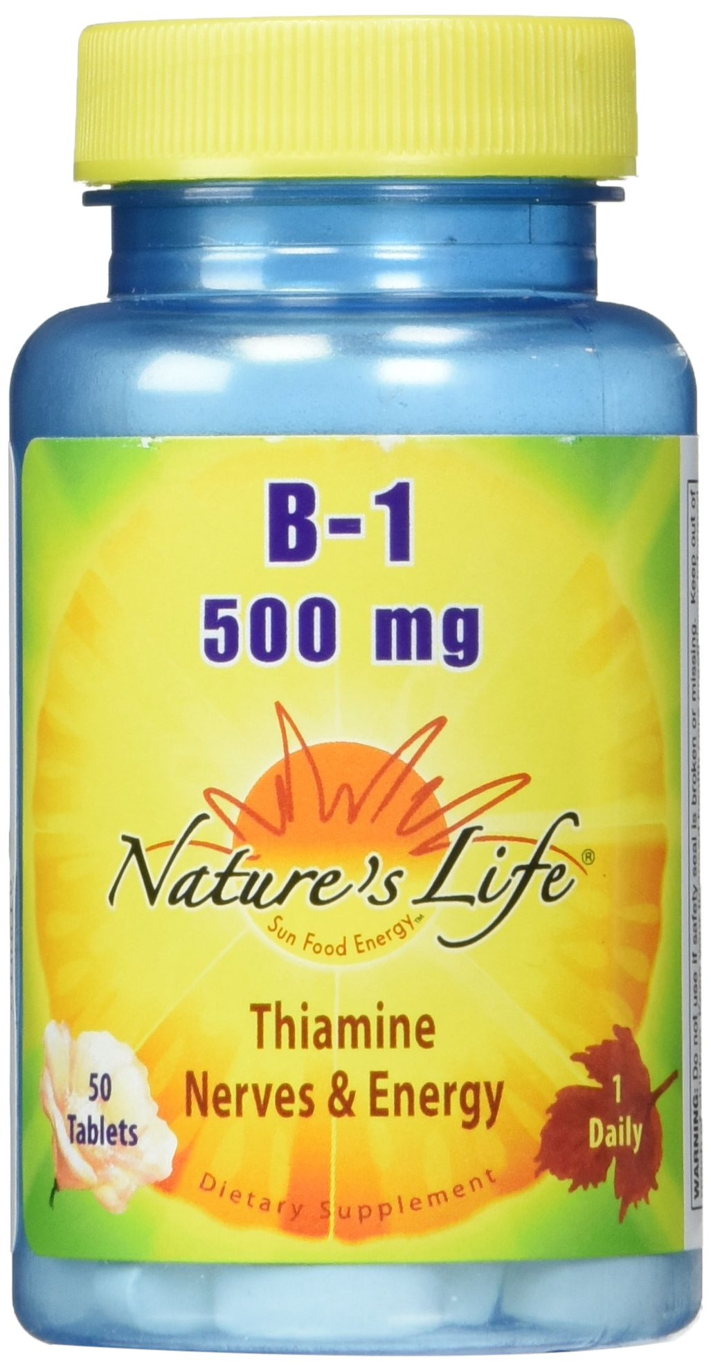 Nature's Life B-1 Tablets, 1000 Count by Nature's Life