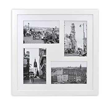 Amazoncom Golden State Art 12x12 Inch Square Photo Wood Collage