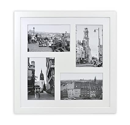 Amazon.com - Golden State Art 12x12-inch Square Photo Wood Collage ...