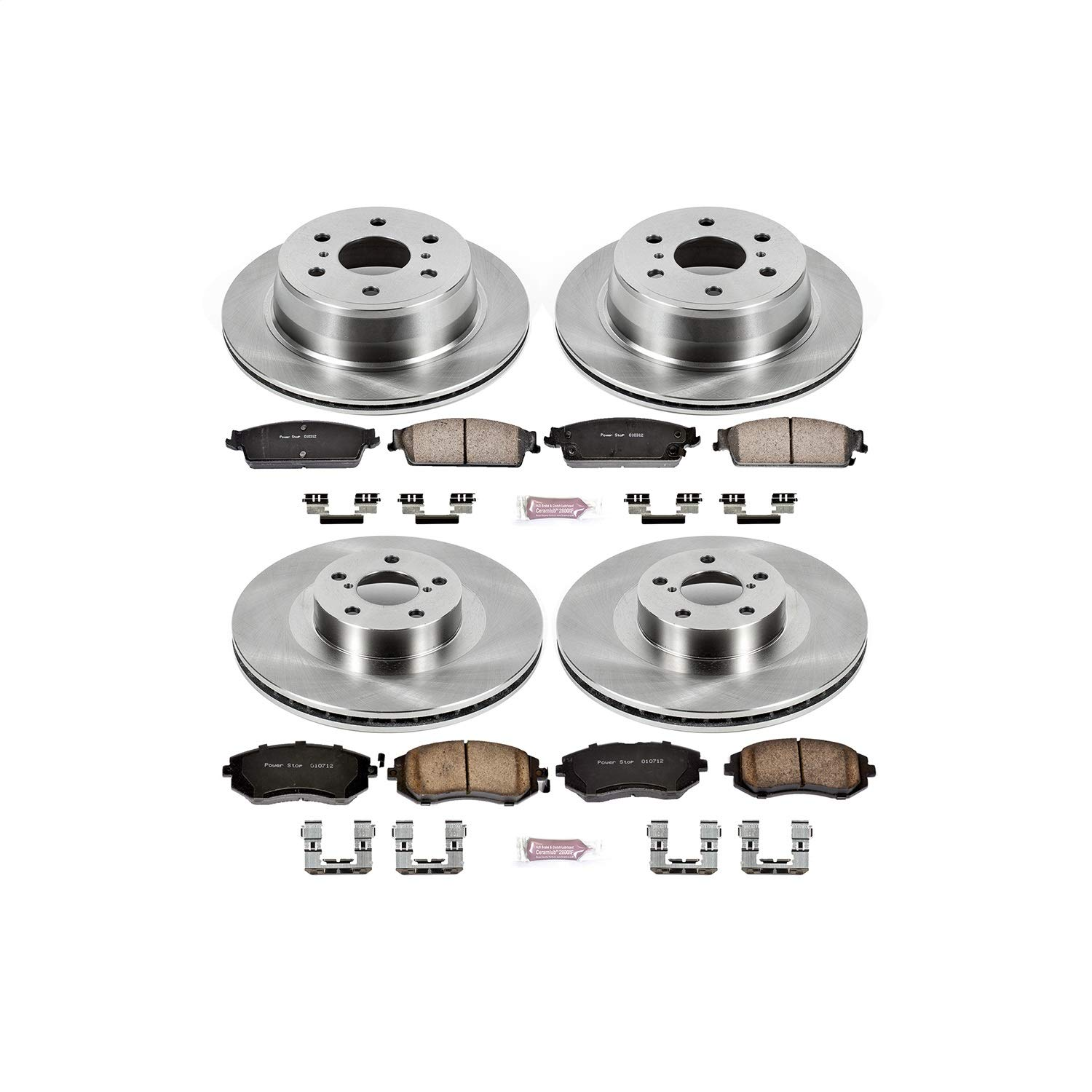 Autospecialty KOE2751 1-Click OE Replacement Brake Kit by POWERSTOP