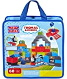 Mega Bloks CND74 Toy Playset Thomas Train and Friends Blue Mountain Coal Mine 60 Piece Building Set