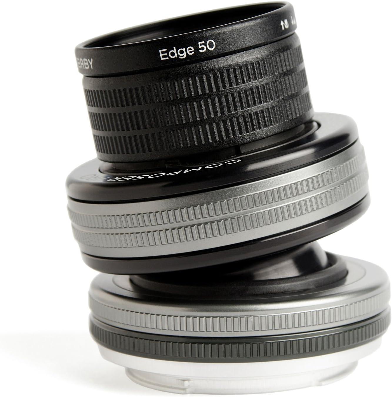 Lensbaby Composer Pro Ii 50 Mm Edge 50 Objektiv Für Kamera