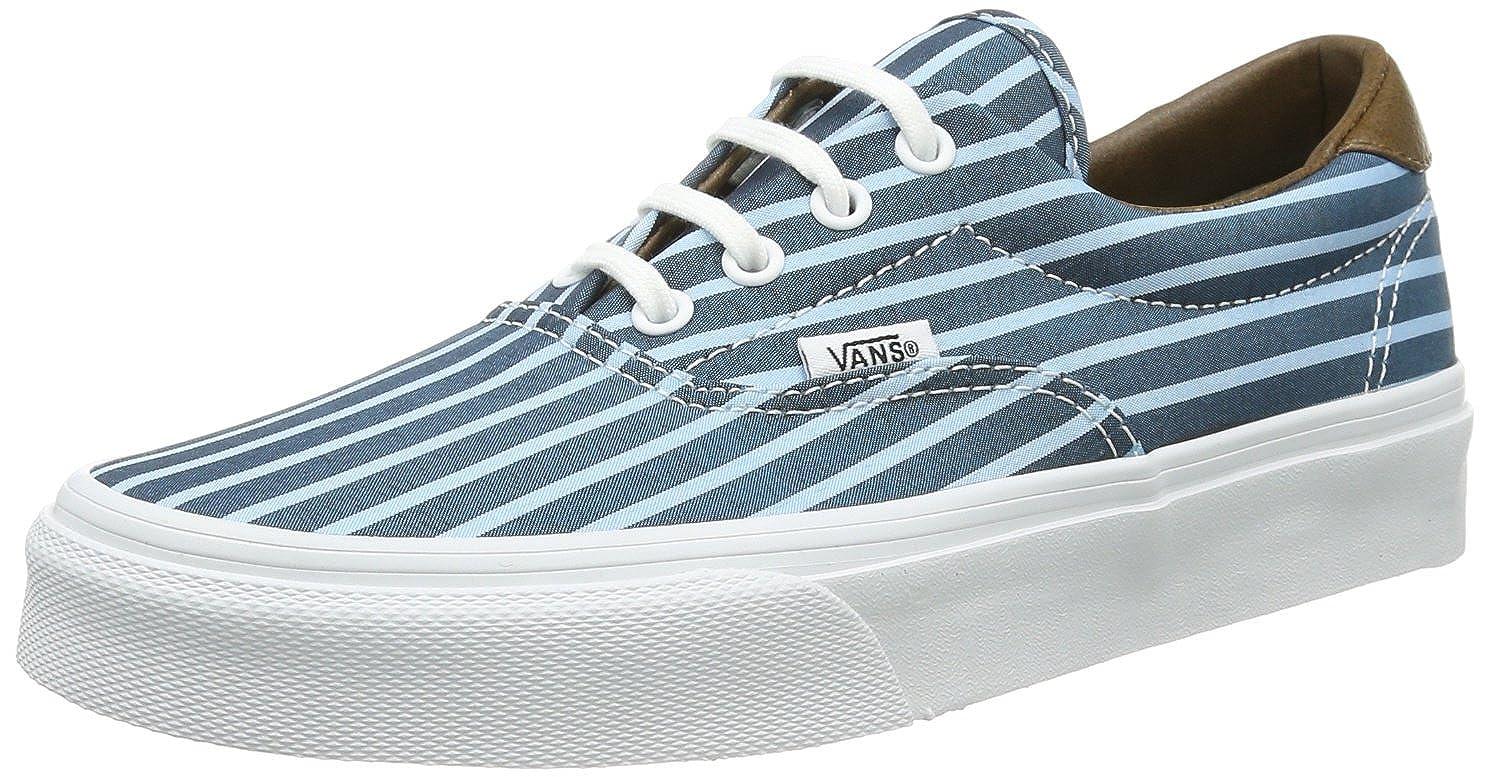 Vans U ERA 59 Unisex-Erwachsene (STRIPES) VUC6C4E Unisex-Erwachsene 59 Sneaker Blau ((Stripes) Blau/) 7cac78
