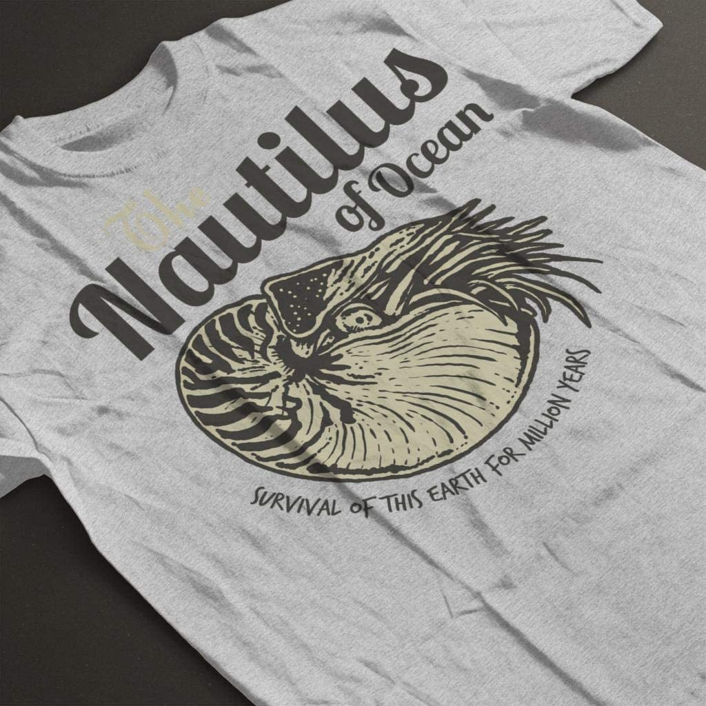 TooLoud Nautilus Fossil Watercolor Text Infant T-Shirt