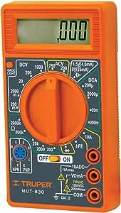 Truper MUT-830, Multímetro digital escolar