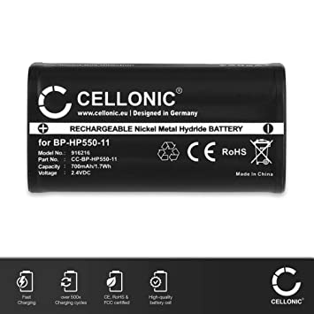 CELLONIC® Batería compatible con Sony MDR-IF245RK MDR-RF810R MDR-RF810RK MDR-RF811 MDR-RF811RK MDR-RF840RK, MDR-RF850R MDR-RF855RK MDR-RF860 MDR-RF925R ...