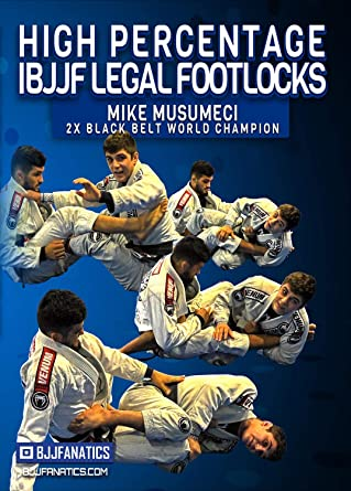 Amazon com: High Percentage IBJJF Legal Footlocks by Mike