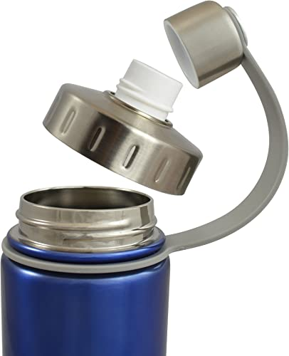 EcoVessel BOULDER Vacuum Insulated Stainless Steel Water Bottle