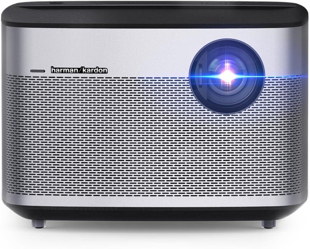 XGIMI H1 Proyector (Cine en Casa, DLP, Función 3D, 1080P, TV sin Pantalla, 900ANSI Lúmenes, LED 300