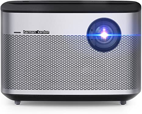 XGIMI H1 Full HD 1080P Smart 3D Projector, 900 ANSI Lumen, Android OS, Built-in Harman/Kardon Hi-Fi Speakers, DLP, 300 inches Picture, Wi-fi, ...