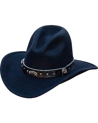 Jack Daniels Men s Crushable Wool Gus Crown Hat - Jd03-111 at Amazon ... 356a4dc4731d