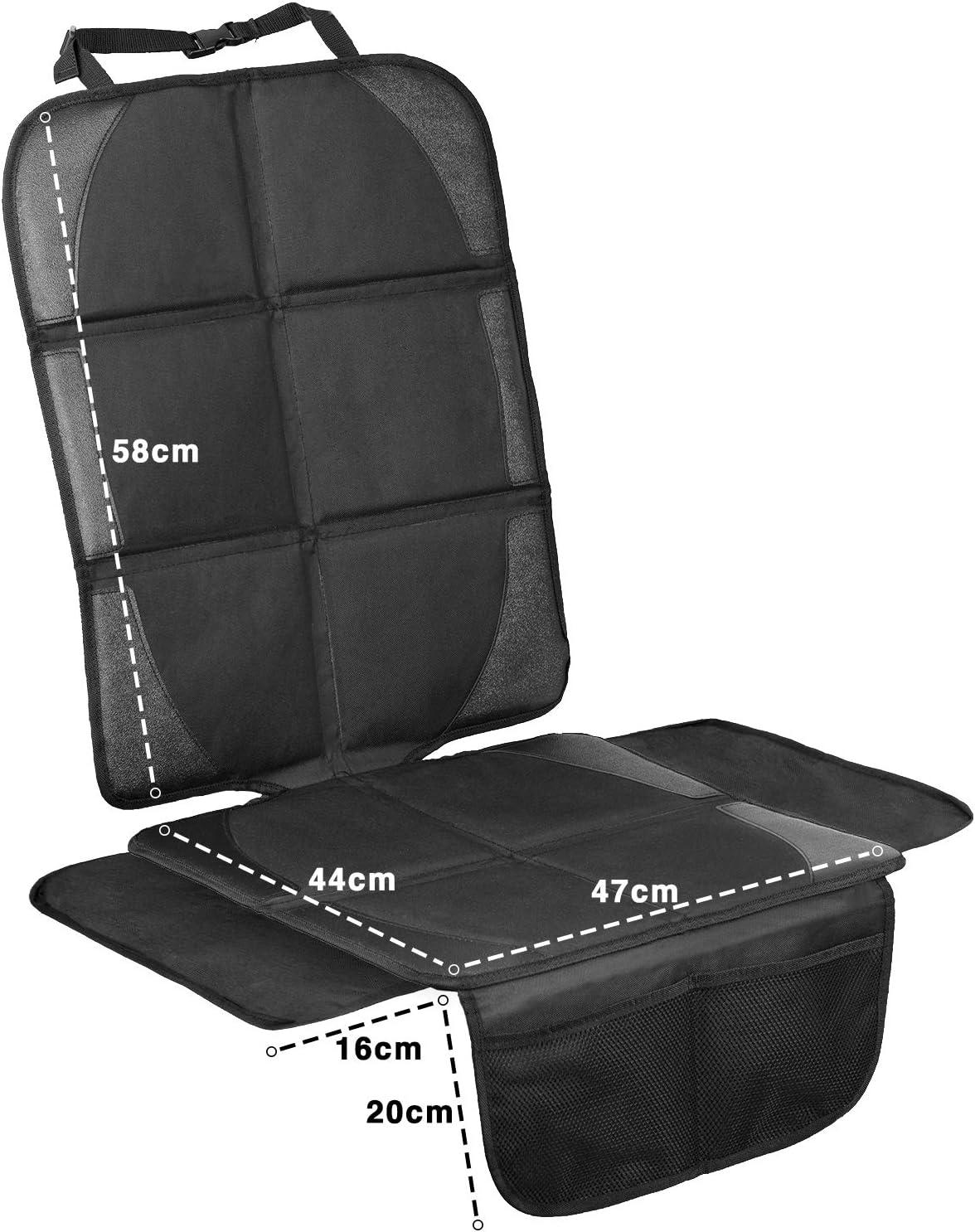 2-SET ISOFIX Fundas para sillas de coche Protector seguro para asiento infantil Protege tu coche LIONSTRONG