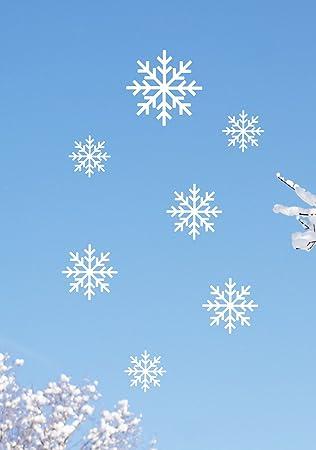 hölzerne schneeflocke basteln haustür deko weihnachten