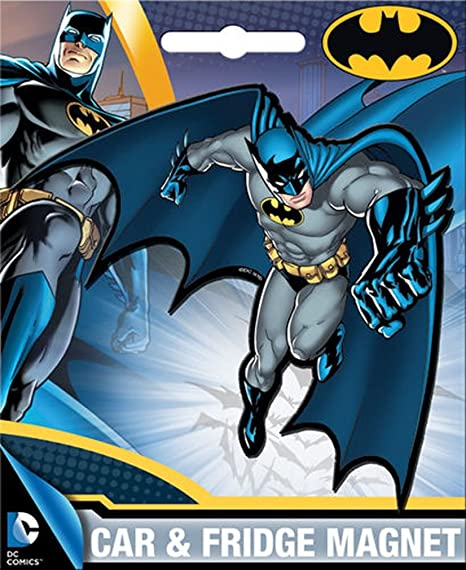 Amazon.com: ATA-Boy dc comics die-cut Batman imán para ...